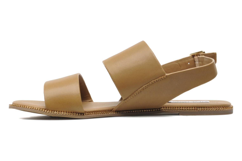 Sandales et nu-pieds Steve Madden SANDDY Beige vue face