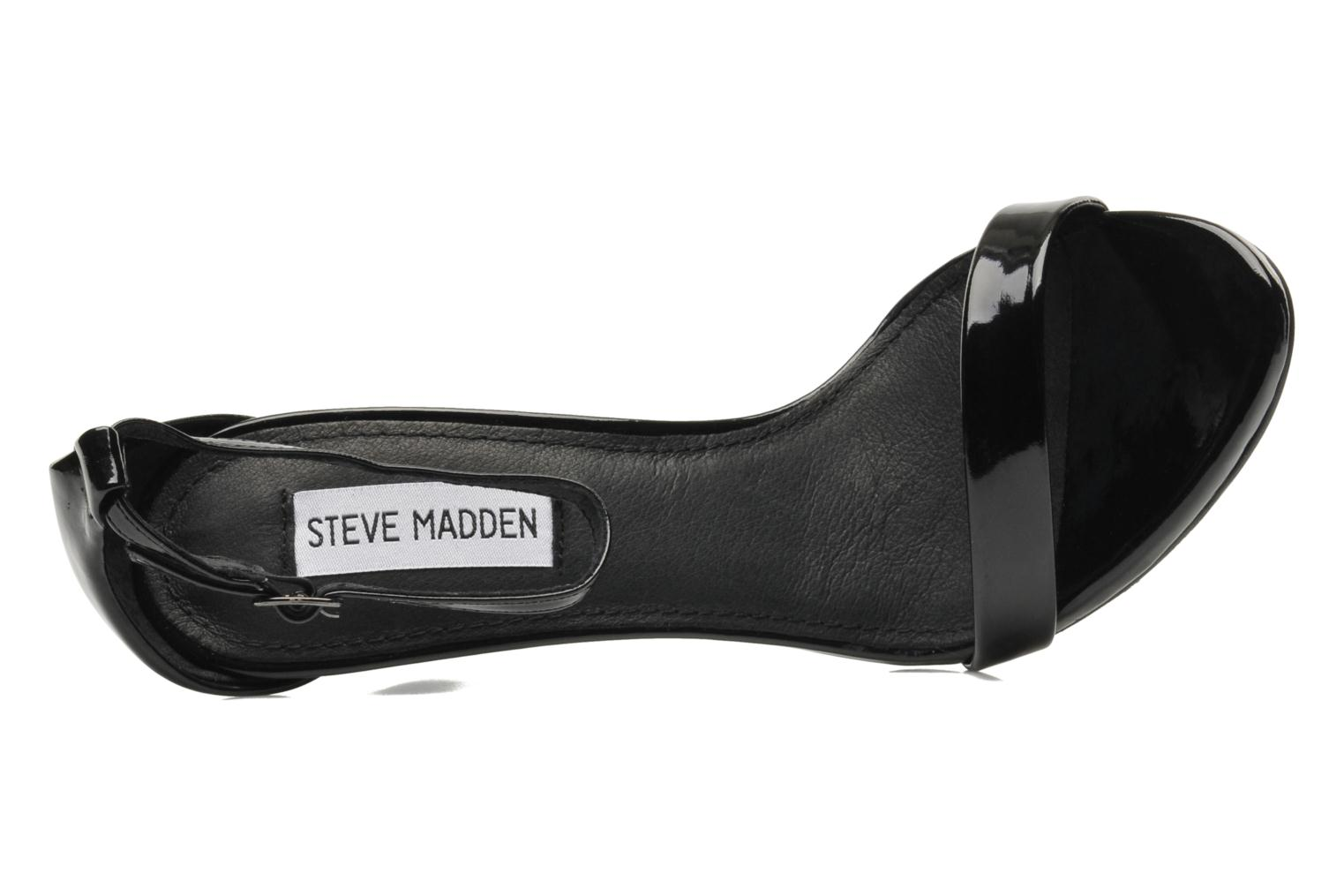 Sandals Steve Madden Stecy Sandal Black view from the left