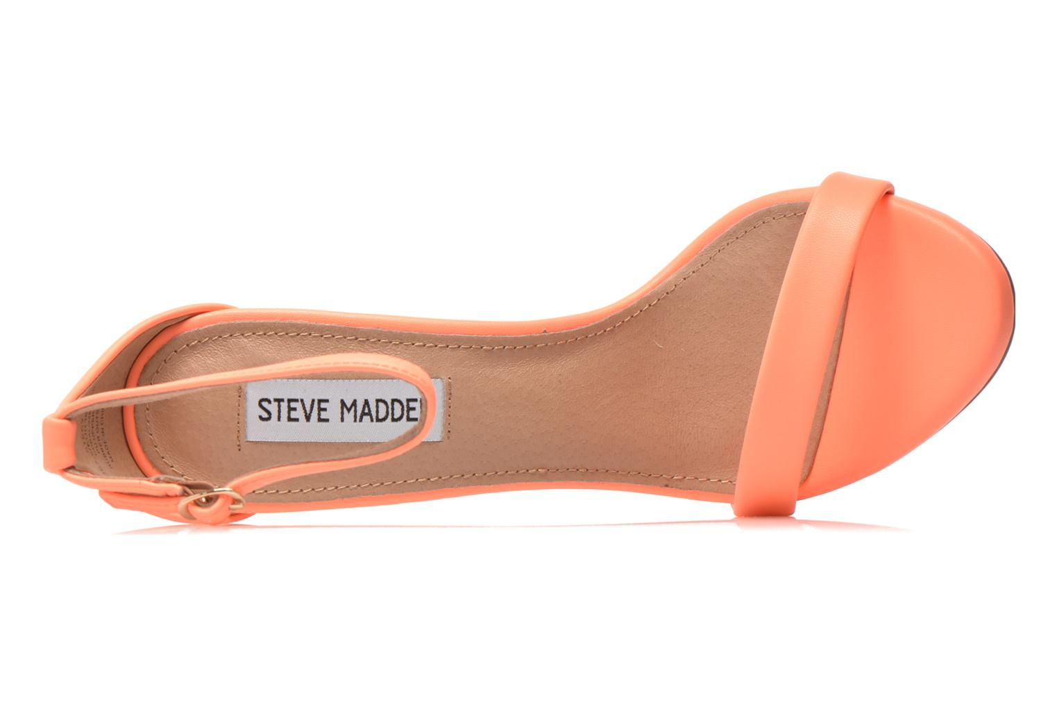 Sandals Steve Madden Stecy Sandal Orange view from the left