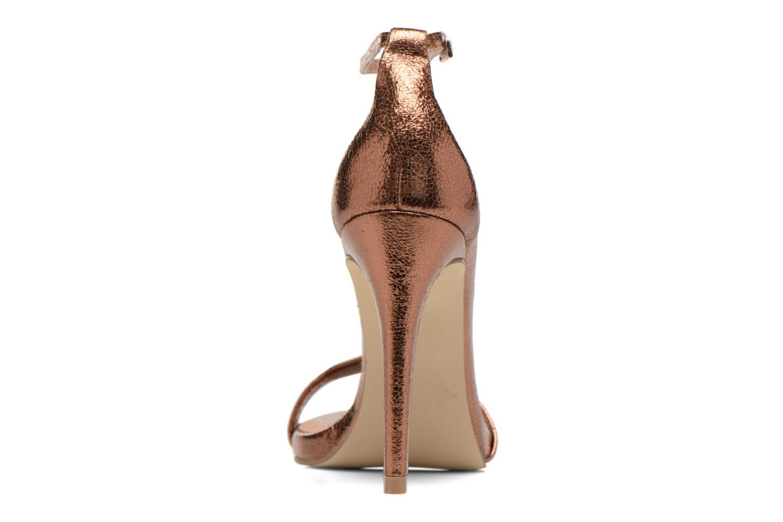 Sandales et nu-pieds Steve Madden Stecy Sandal Or et bronze vue droite