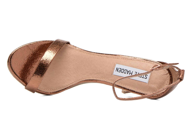 Sandales et nu-pieds Steve Madden Stecy Sandal Or et bronze vue gauche