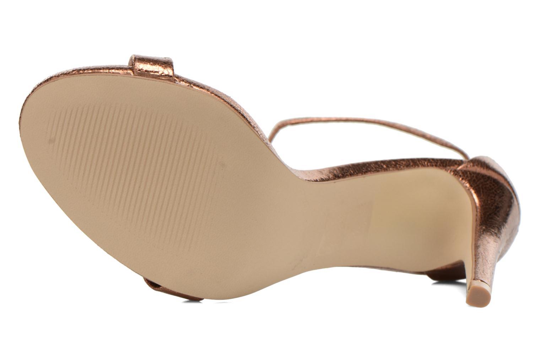 Sandales et nu-pieds Steve Madden Stecy Sandal Or et bronze vue haut