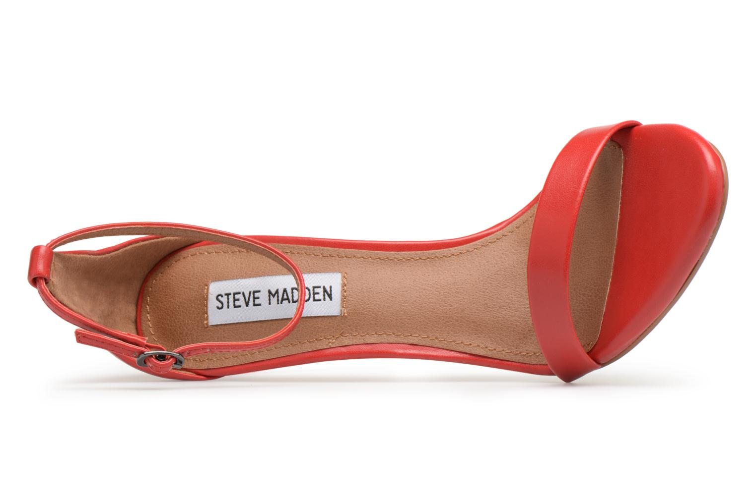 Sandals Steve Madden Stecy Sandal Red view from the left