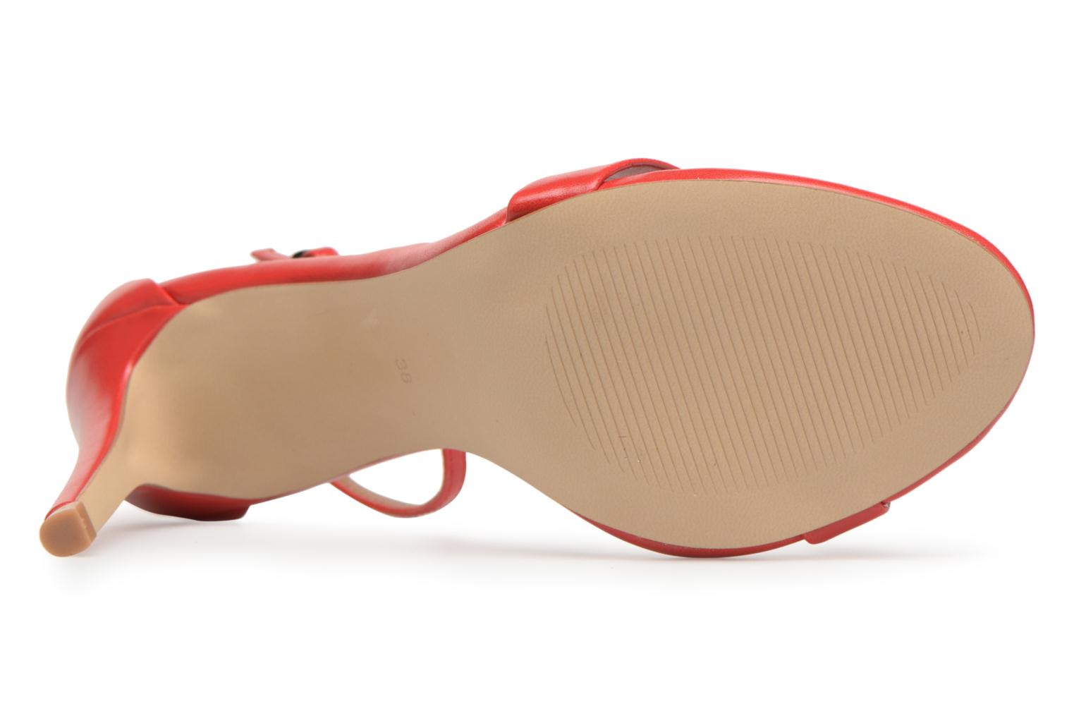 Sandals Steve Madden Stecy Sandal Red view from above