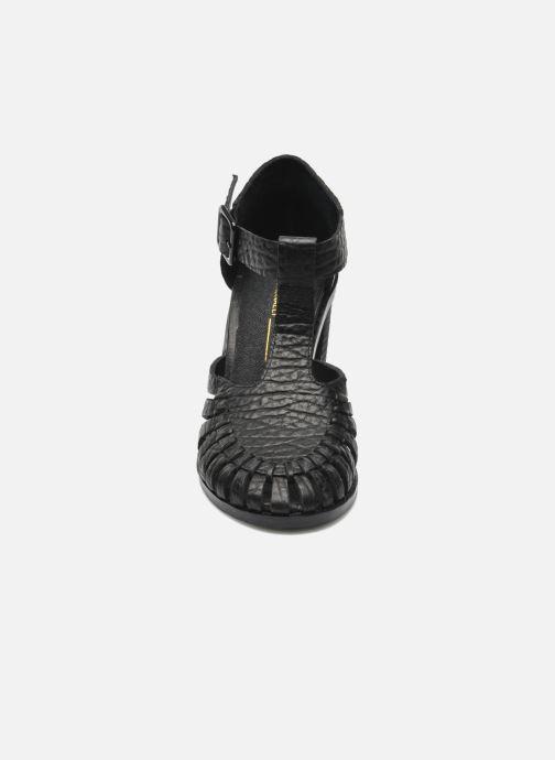 Sandales et nu-pieds Intentionally blank Tilted Noir vue portées chaussures