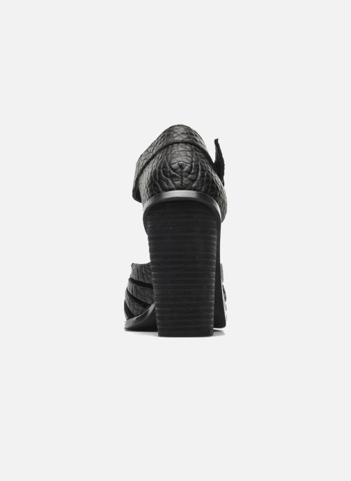 Sandales et nu-pieds Intentionally blank Tilted Noir vue droite