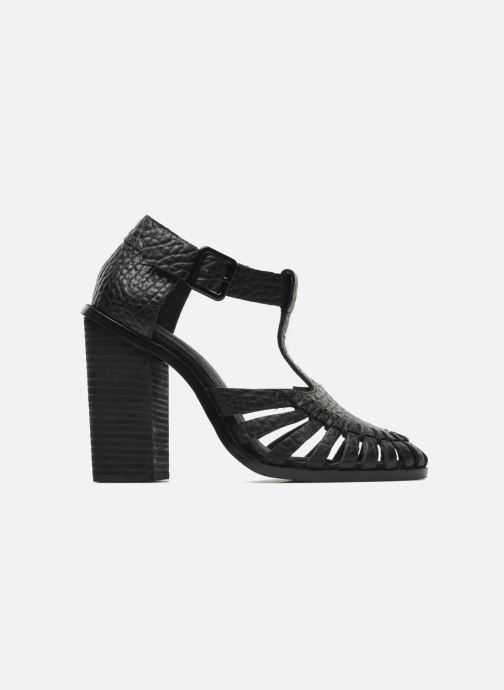 Sandalias Intentionally blank Tilted Negro vistra trasera