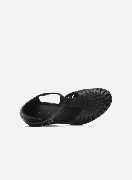 Sandales et nu-pieds Intentionally blank Tilted Noir vue gauche