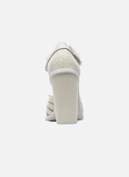 Sandales et nu-pieds Intentionally blank Tilted Blanc vue droite