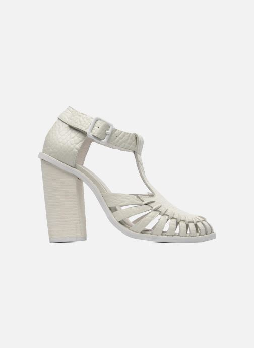 Sandales et nu-pieds Intentionally blank Tilted Blanc vue derrière