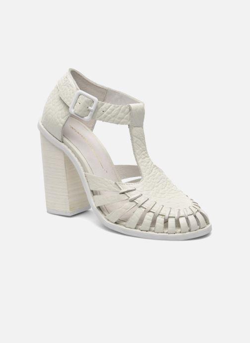 Sandales et nu-pieds Intentionally blank Tilted Blanc vue détail/paire