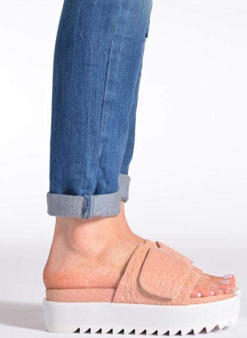 Mules & clogs Intentionally blank Reture Pink view from underneath / model view