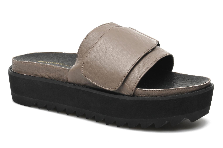 Clogs og træsko Intentionally blank Reture Brun detaljeret billede af skoene