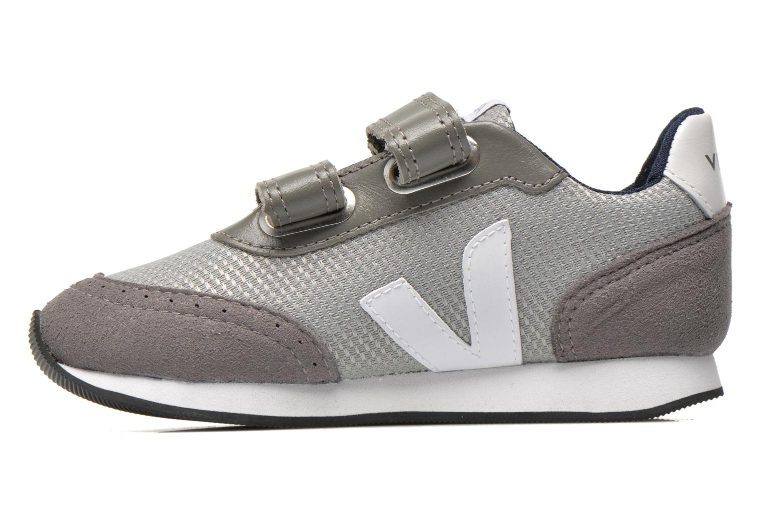 Trainers Veja ARCADE SMALL B MESH VELCRO Grey front view