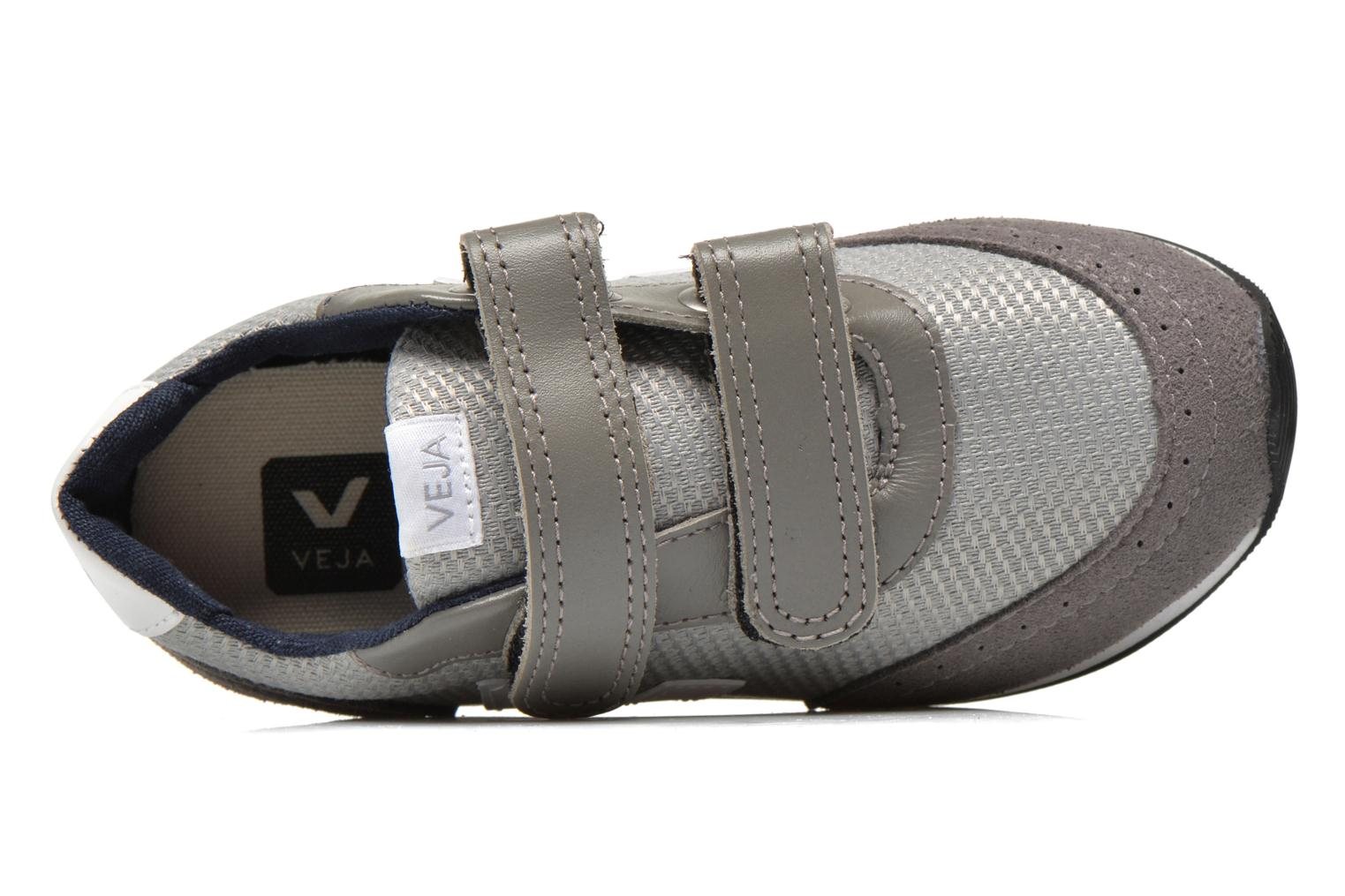 Trainers Veja ARCADE SMALL B MESH VELCRO Grey view from the left