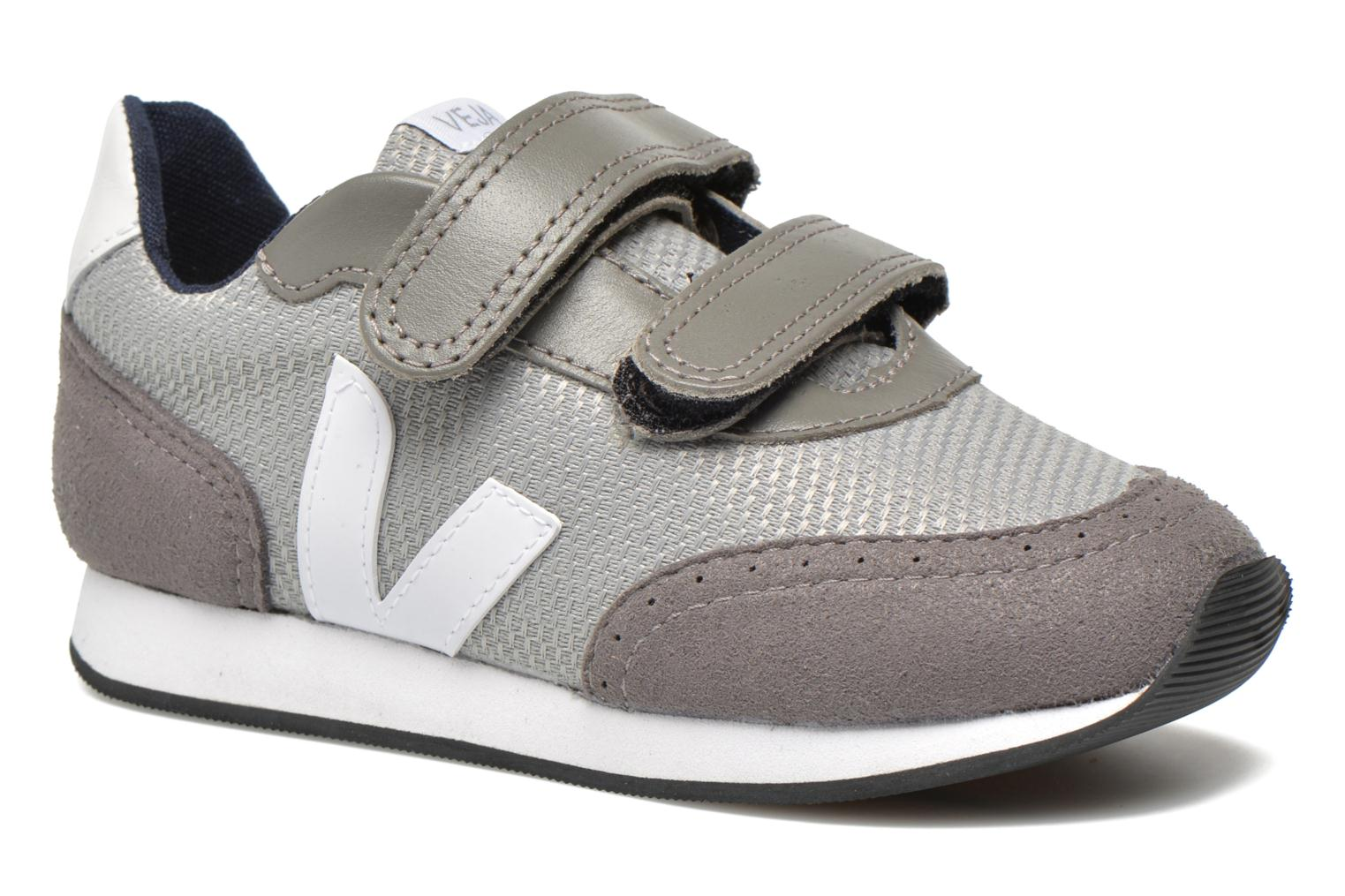 Trainers Veja ARCADE SMALL B MESH VELCRO Grey detailed view/ Pair view