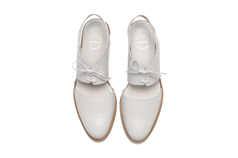Chaussures à lacets Made by SARENZA Parasols de Paris #1 Blanc vue portées chaussures