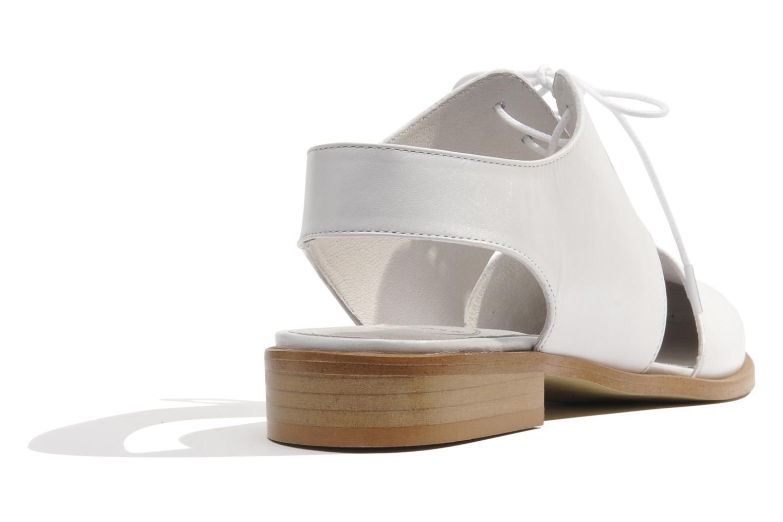 Chaussures à lacets Made by SARENZA Parasols de Paris #1 Blanc vue face