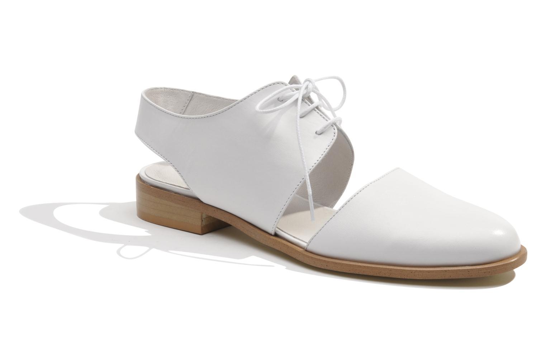 Chaussures à lacets Made by SARENZA Parasols de Paris #1 Blanc vue droite