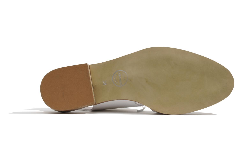 Chaussures à lacets Made by SARENZA Parasols de Paris #1 Blanc vue gauche