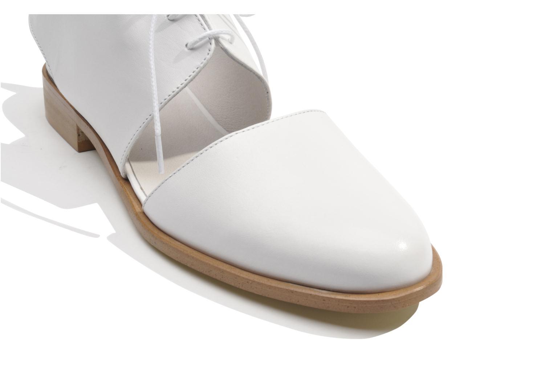Chaussures à lacets Made by SARENZA Parasols de Paris #1 Blanc vue haut