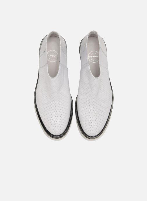 Stiefeletten & Boots Made by SARENZA Queen of pétanque #2 weiß schuhe getragen