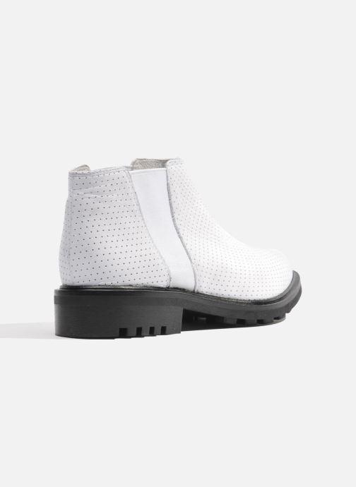 Stiefeletten & Boots Made by SARENZA Queen of pétanque #2 weiß ansicht von vorne