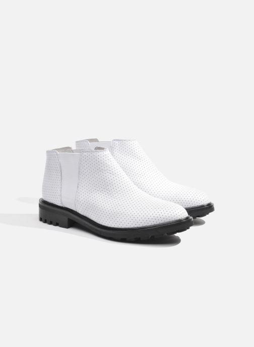 Stiefeletten & Boots Made by SARENZA Queen of pétanque #2 weiß ansicht von hinten
