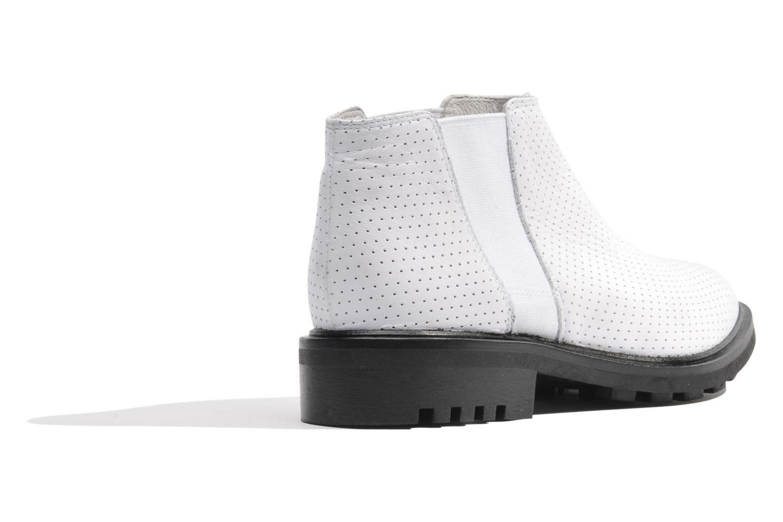 Bottines et boots Made by SARENZA Queen of pétanque #2 Blanc vue face