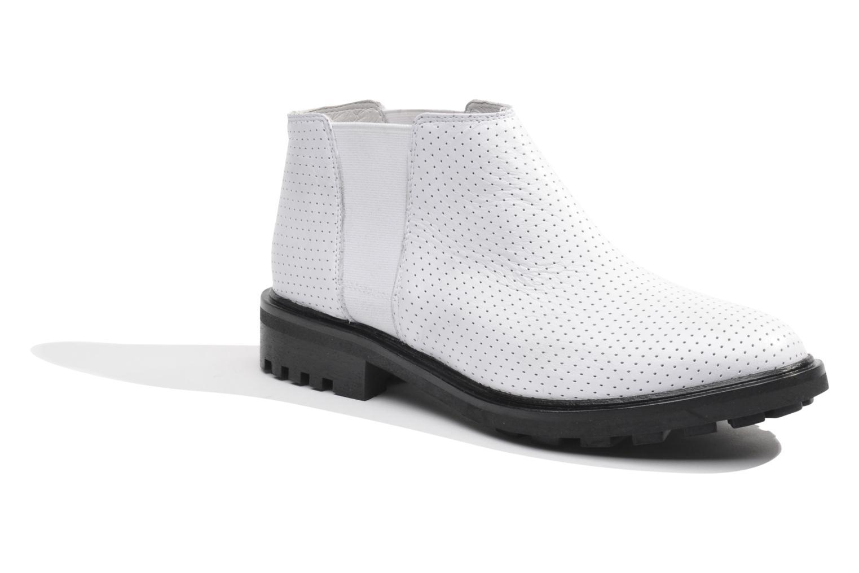 Bottines et boots Made by SARENZA Queen of pétanque #2 Blanc vue droite