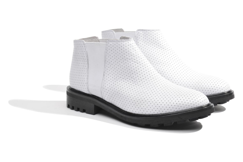 Bottines et boots Made by SARENZA Queen of pétanque #2 Blanc vue derrière