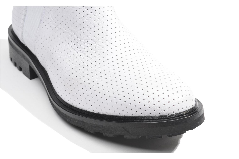 Bottines et boots Made by SARENZA Queen of pétanque #2 Blanc vue haut