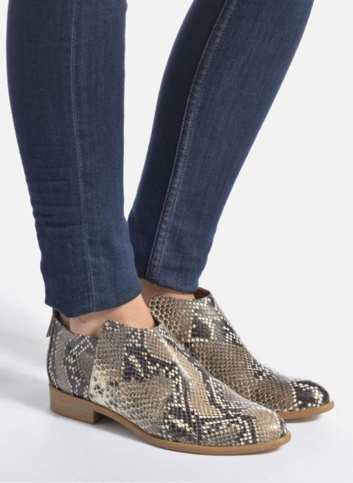 Bottines et boots Made by SARENZA Rock-a-hula #7 Noir vue bas / vue portée sac