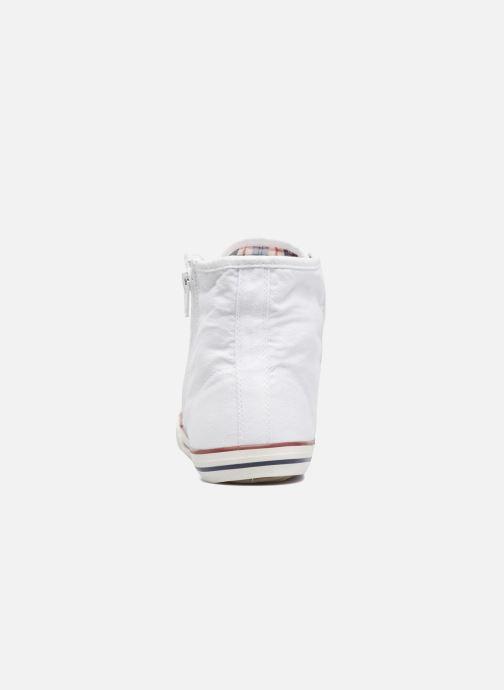 Baskets Mustang shoes Mavon Blanc vue droite