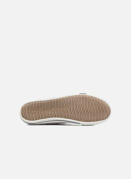 Baskets Mustang shoes Mavon Blanc vue haut
