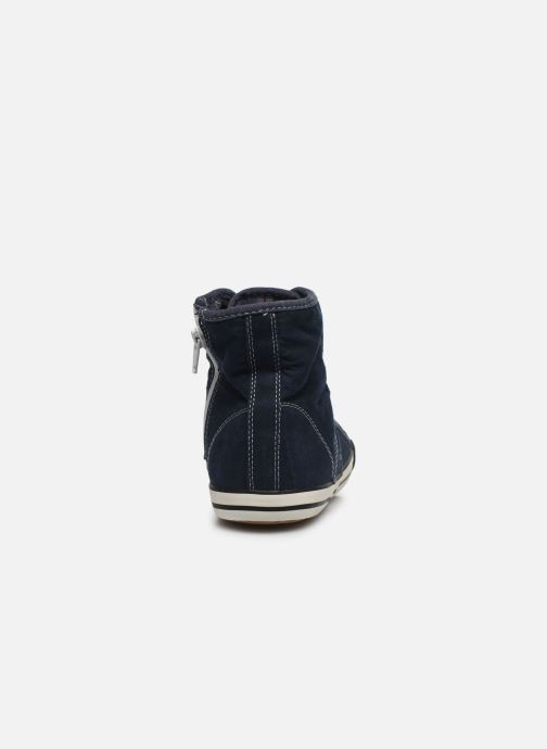 Baskets Mustang shoes Mavon Bleu vue droite
