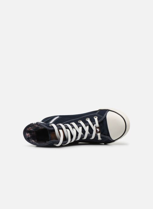 Baskets Mustang shoes Mavon Bleu vue gauche