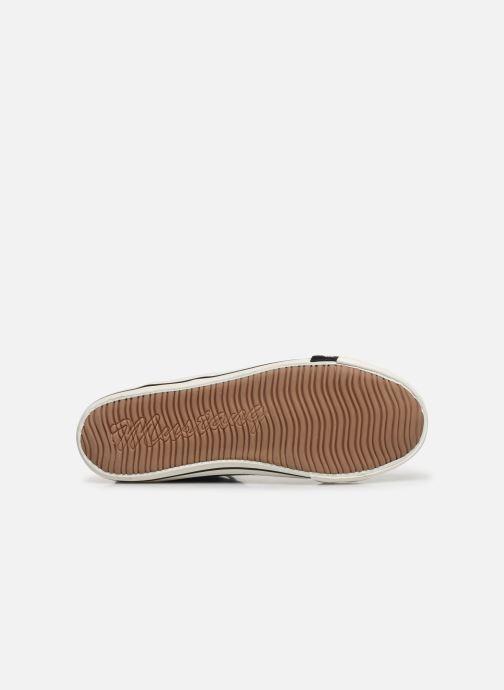 Baskets Mustang shoes Mavon Bleu vue haut