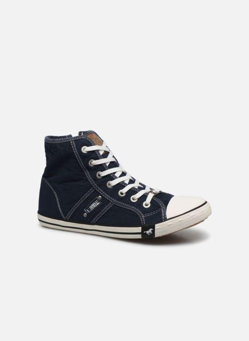 Baskets Mustang shoes Mavon Bleu vue détail/paire