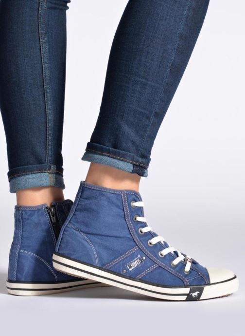 Sneakers Mustang shoes Mejob Azzurro immagine dal basso