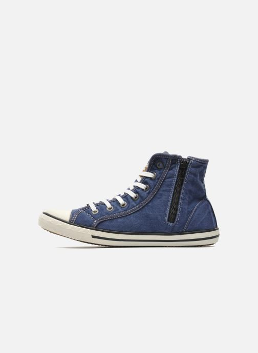 Sneakers Mustang shoes Mejob Azzurro immagine frontale