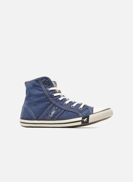 Sneakers Mustang shoes Mejob Blauw achterkant