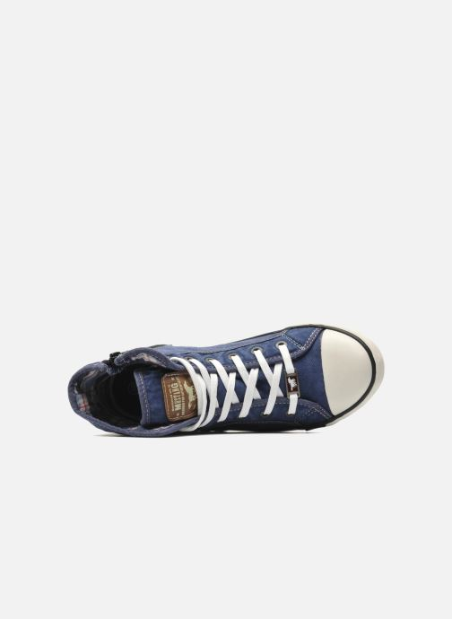 Sneakers Mustang shoes Mejob Azzurro immagine sinistra