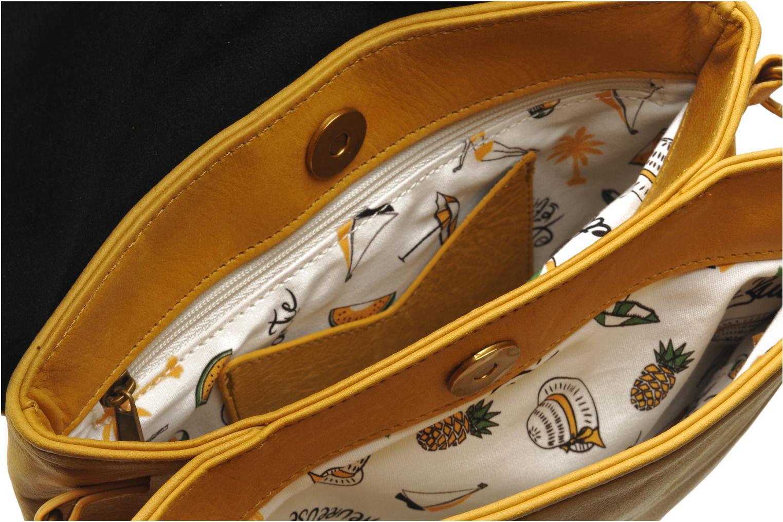 Handbags Nat & Nin L'Azuréen Yellow back view