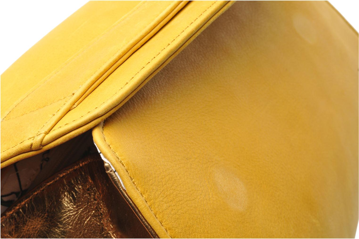 Clutch bags Nat & Nin Bastille Day Yellow view from the left