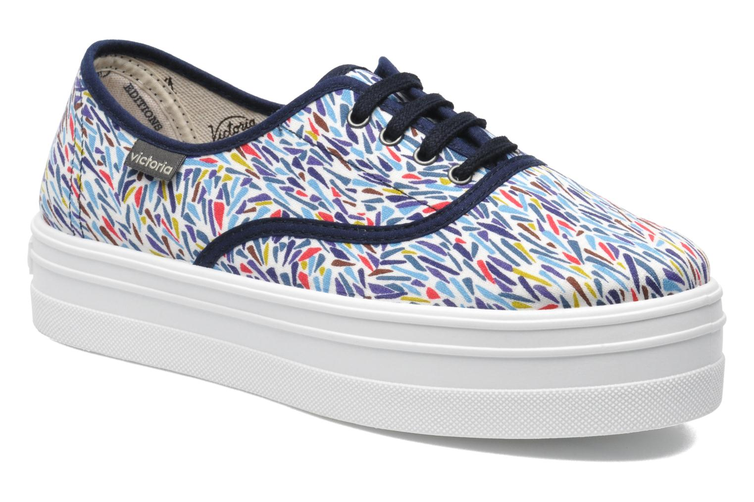 Trainers Victoria Inglesa Liberty Plataforma Multicolor detailed view/ Pair view