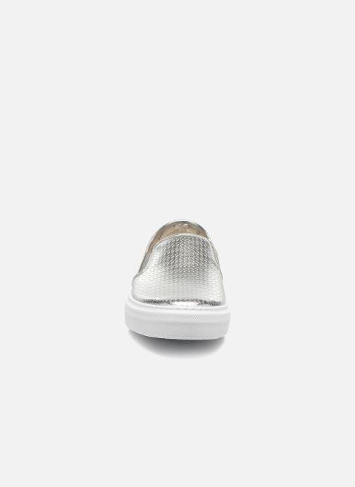 Baskets Victoria Slip-on Metalizada Argent vue portées chaussures