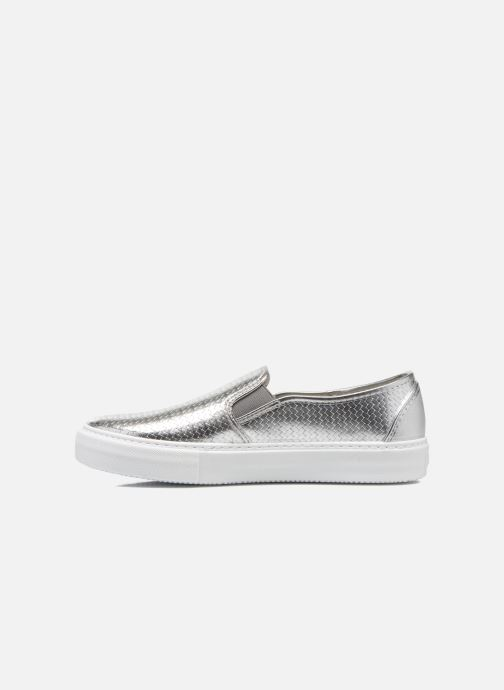 Baskets Victoria Slip-on Metalizada Argent vue face