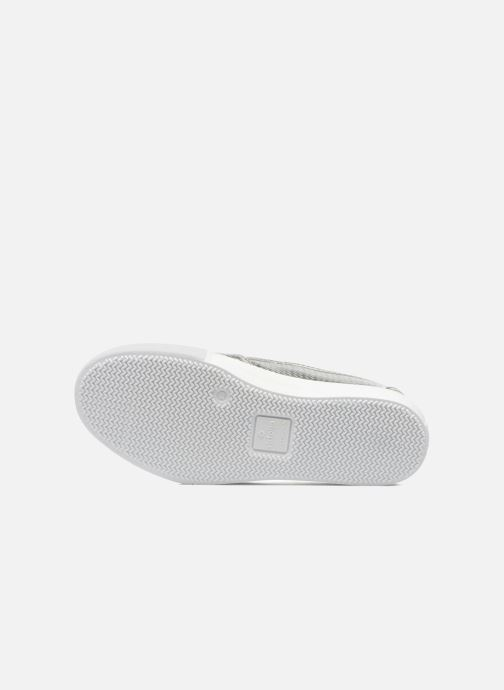 Sneakers Victoria Slip-on Metalizada Zilver boven