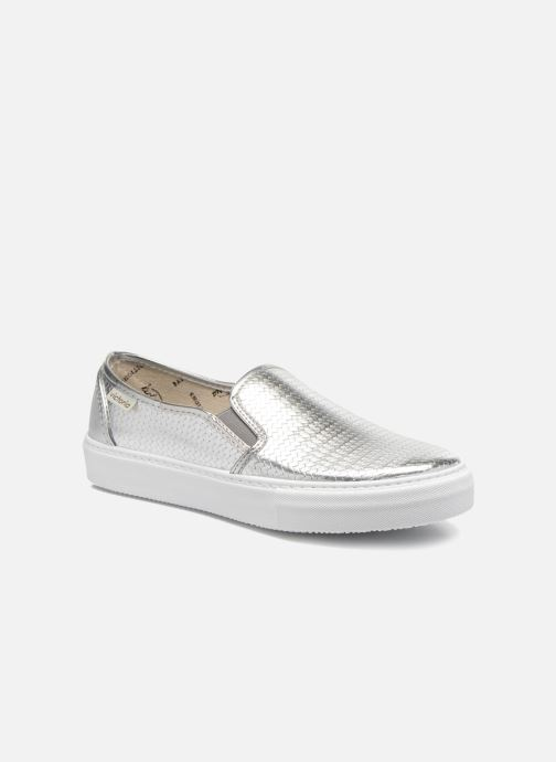 Sneakers Victoria Slip-on Metalizada Zilver detail